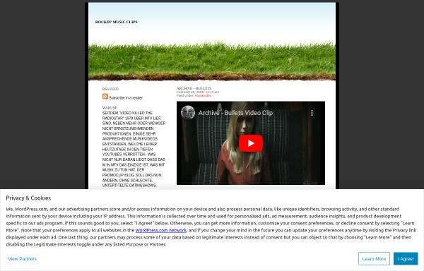 Vorschau von promoclips.wordpress.com, rockin' music clips
