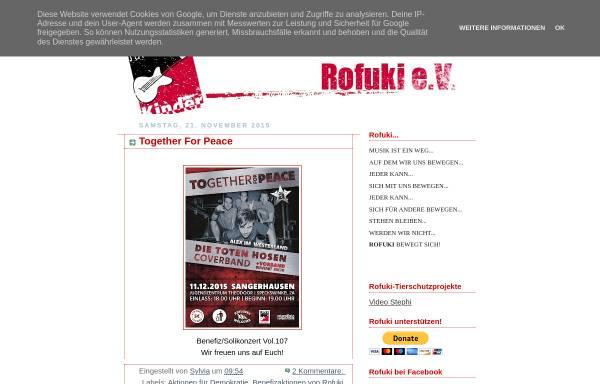 Vorschau von www.rofuki.blogspot.com, Rofuki Blog