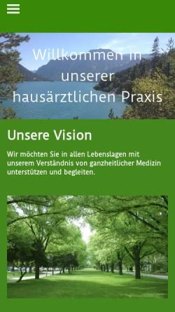 Vorschau der mobilen Webseite www.hausärzteamschlosskoblenz.de, Helling, Dr. med. Dieter