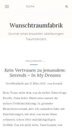 Vorschau der mobilen Webseite www.schallgrenzen.de, Schallgrenzen