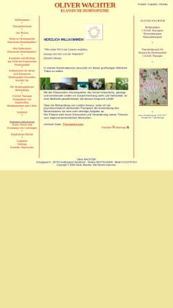 Vorschau der mobilen Webseite www.xn--homopathie-osteopathie-bodensee-8cd.de, Oliver Wachter