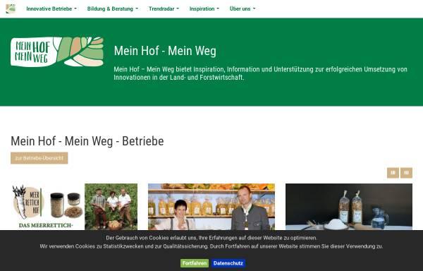 Vorschau von www.agrarprojektpreis.at, Agrar Projekt Preis