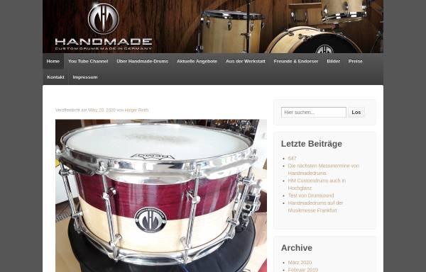 Vorschau von www.handmadedrums.de, HM Drums, Inh. Holger Reith
