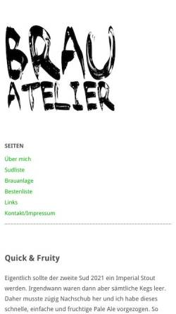 Vorschau der mobilen Webseite www.timozein.de, Timo's musikblog