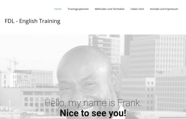 Vorschau von www.fdl-englishtraining.de, FDL - English Training