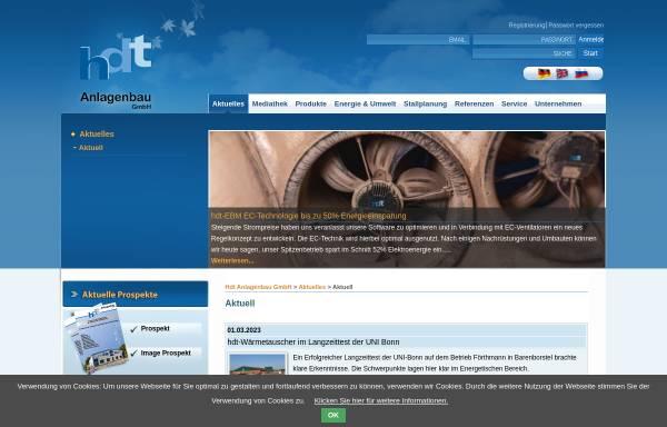 Vorschau von www.stallklima.de, Hdt Anlagenbau GmbH & Co. KG