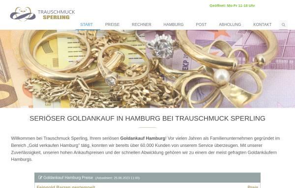 Vorschau von www.goldankauf-ge.de, Trauschmuck Sperling GmbH