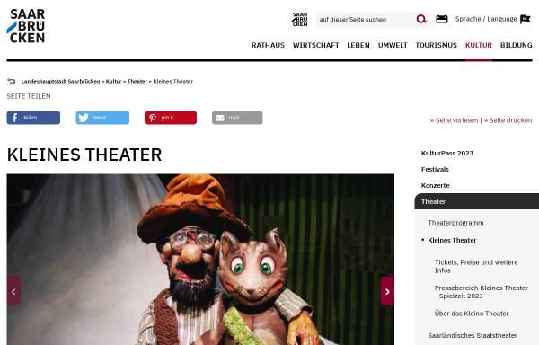 Vorschau von www.kleines-theater-rathaus.de, Das Kleine Theater im Rathaus