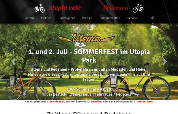 Vorschau von www.utopia-velo.de, Utopia Velo - Inge Wiebe-Klagges & Ralf Klagges GbR