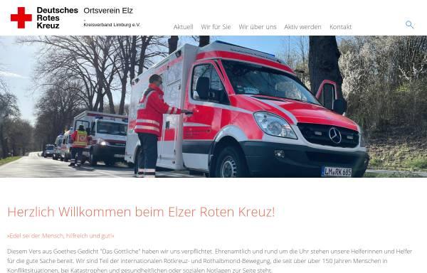 Vorschau von www.drk-elz.de, DRK Ortsverein Elz