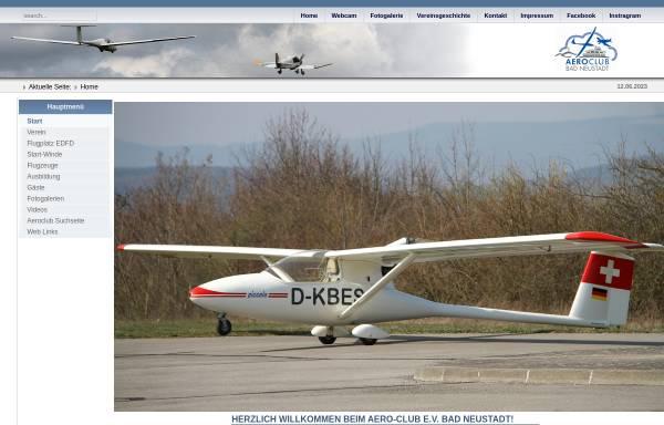 Vorschau von www.aeroclub-bad-neustadt.de, Aeroclub Bad Neustadt e.V.