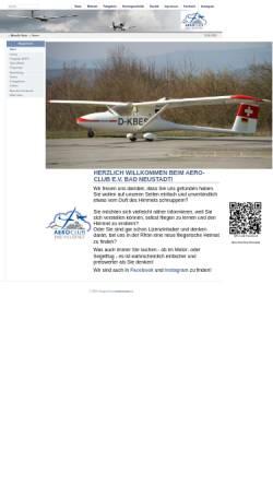 Vorschau der mobilen Webseite www.aeroclub-bad-neustadt.de, Aeroclub Bad Neustadt e.V.