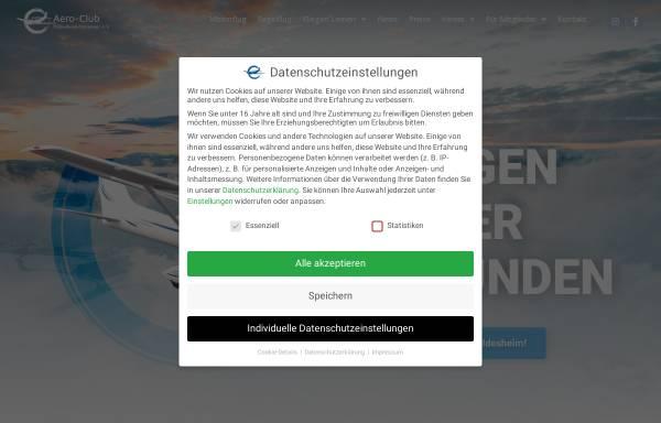 Vorschau von www.ac-hildesheim.de, Aero-Club Hildesheim