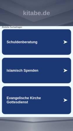 Vorschau der mobilen Webseite www.kitabe.de, KiTaBe Farbenbogen