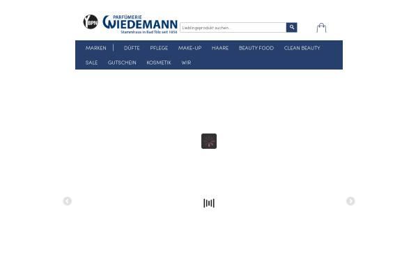 Vorschau von www.parfuemerie-wiedemann.de, Parfümerie Wiedemann