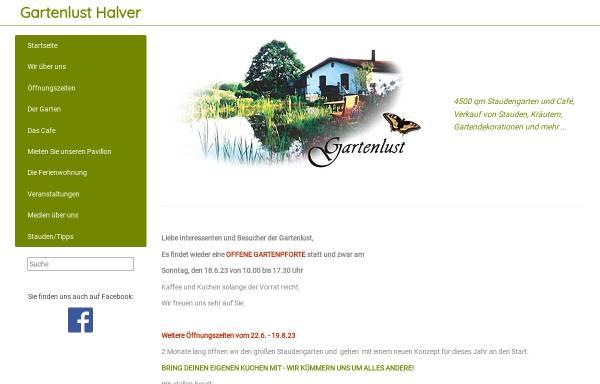 Vorschau von www.gartenlust-halver.de, Gartenlust Halver