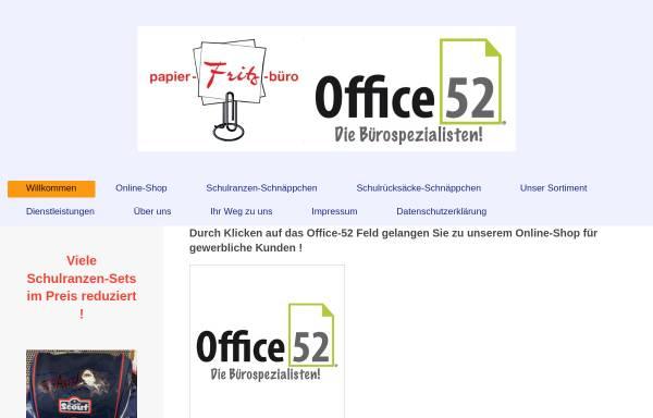 Vorschau von papierfritzbuero.de, Papier Fritz