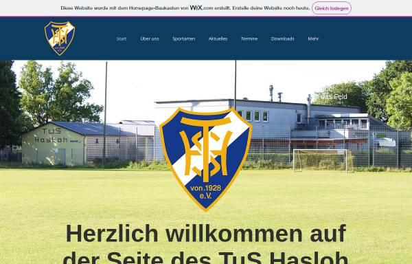 Vorschau von www.tus-hasloh-e-v.de, TuS Hasloh
