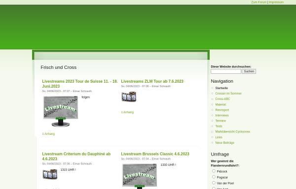 Vorschau von www.cx-sport.de, Cyclocross Radcross Community