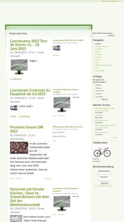 Vorschau der mobilen Webseite www.cx-sport.de, Cyclocross Radcross Community