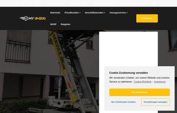 Vorschau von www.myumzug.de, Ahorn Umzüge Berlin