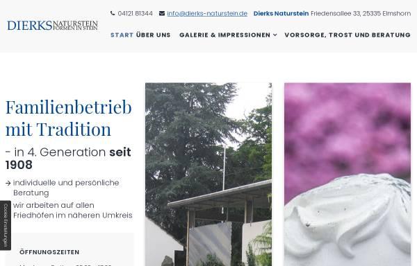 Vorschau von www.dierks-naturstein.de, Dierks Naturstein GmbH