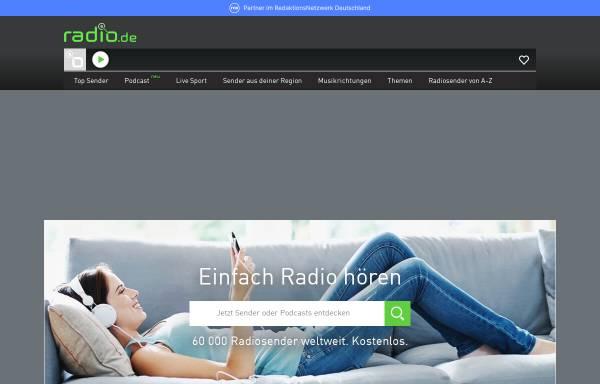 Vorschau von www.radio.de, Radio.de GmbH