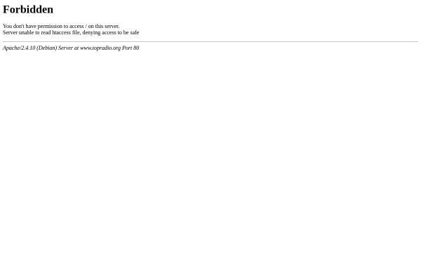 Vorschau von www.topradio.org, Top Radio