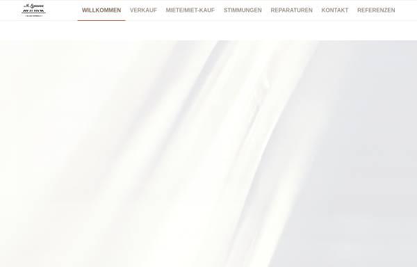 Vorschau von www.klavierbau-symann.de, Klavierbau Symann