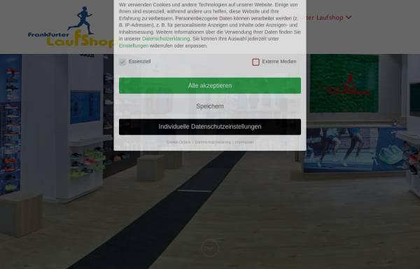Vorschau von frankfurter-laufshop.de, Frankfurter Laufshop