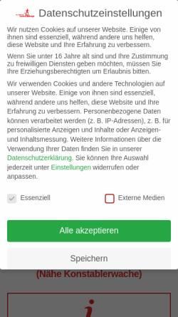 Vorschau der mobilen Webseite frankfurter-laufshop.de, Frankfurter Laufshop