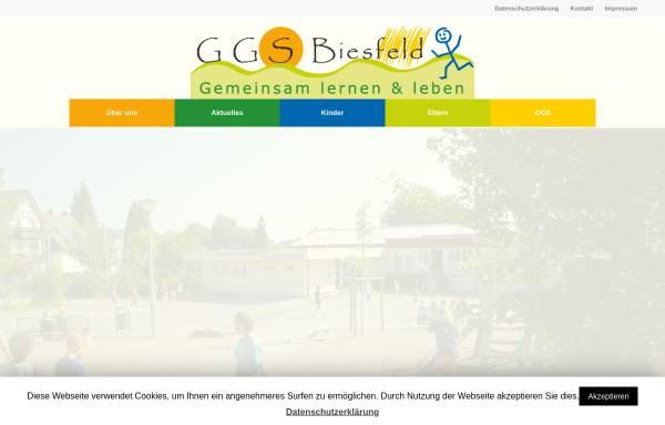 Vorschau von www.ggs-biesfeld.de, Gemeinschaftsgrundschule Biesfeld