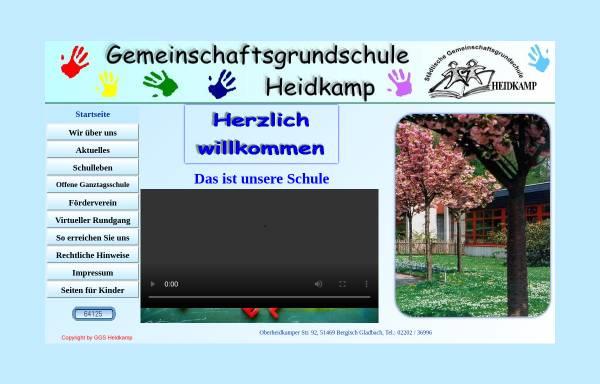 Vorschau von www.grundschule-heidkamp.de, Gemeinschaftsgrundschule Heidkamp