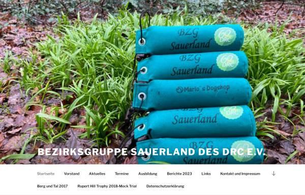 Vorschau von www.berg-und-tal.info, Deutscher Retriever Club (DRC), Bezirksgruppe Sauerland