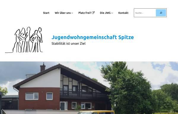 Vorschau von www.jwg-spitze.de, Jugendwohngemeinschaft Spitze