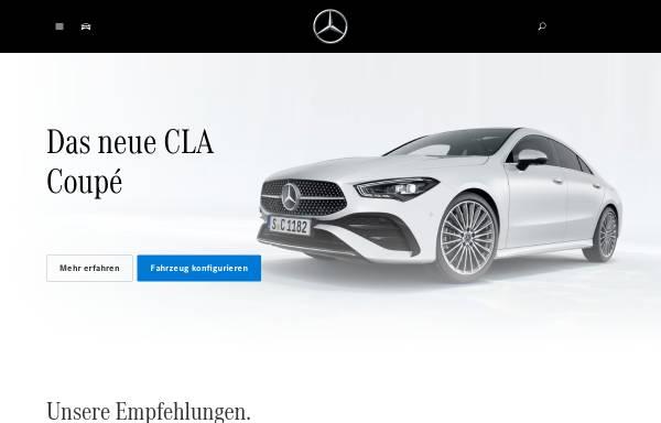 Vorschau von www.mercedes-benz.de, Mercedes-Benz Deutschland