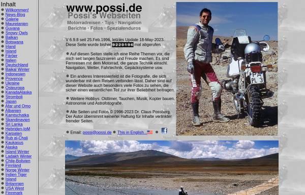 Vorschau von www.possi.de, Possis Webseiten