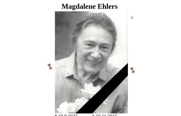 Vorschau von www.magdaleneehlers.de, Magdalene Ehlers Online