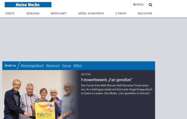 Vorschau von www.stadt-spiegel-viersen.de, Stadt-Spiegel Viersen