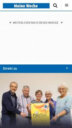 Vorschau der mobilen Webseite www.stadt-spiegel-viersen.de, Stadt-Spiegel Viersen