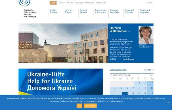 Vorschau von www.ikg-muenchen.de, Kindergarten des Israelitischen Kultusgemeinde München und Oberbayern