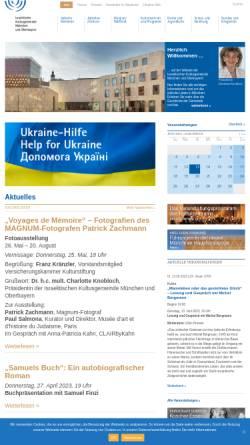Vorschau der mobilen Webseite www.ikg-muenchen.de, Kindergarten des Israelitischen Kultusgemeinde München und Oberbayern