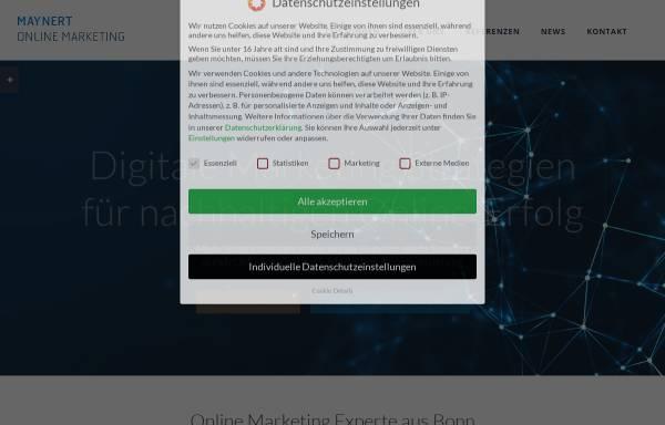 Vorschau von www.maynert.de, Maynert Online Marketing, Sascha Maynert