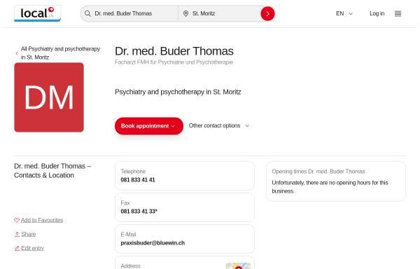 Vorschau von yellow.local.ch, Buder, Dr. med. Thomas