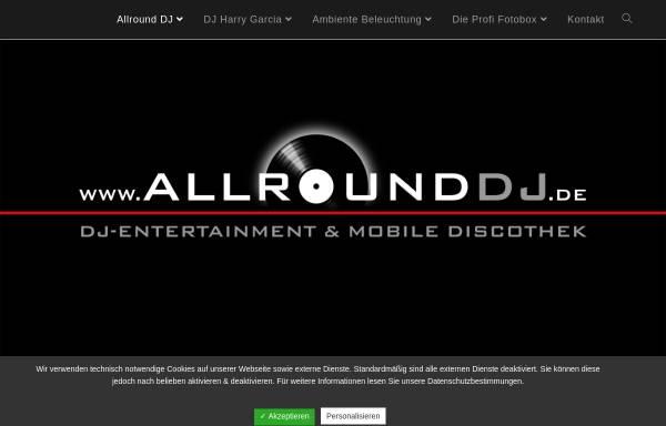 Vorschau von www.allrounddj.de, DJ Harry Hermann