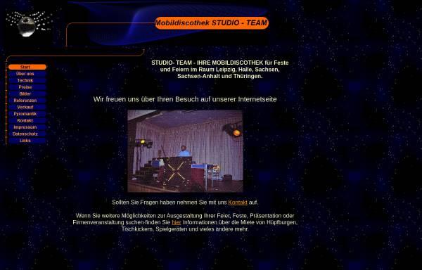 Vorschau von www.studio-team.de, Studio-Team