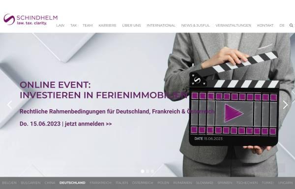 Vorschau von www.schindhelm.com, Saxinger Chalupsky & Partner Rechtsanwälte GmbH