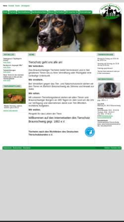 Vorschau der mobilen Webseite www.tierschutz-braunschweig.de, Tierschutz in Braunschweig - Tierrettungsdienst