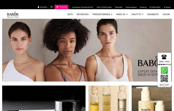 Vorschau von www.babor-shop-bercker.de, Babor Beautyworld Ruth Bercker