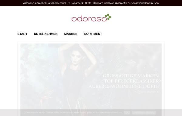 Vorschau von www.odoroso.com, Odoroso GmbH